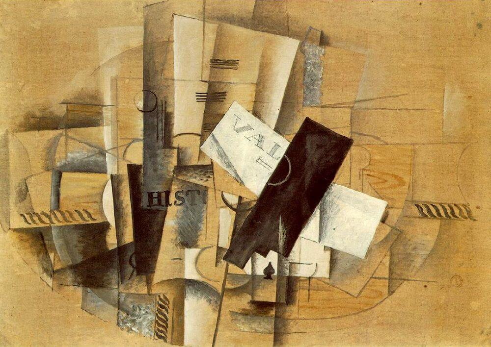 Gueridon, 1913, by Georges Braque