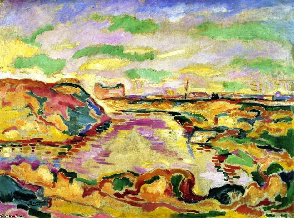 Landscape near Antwerp, 1906, by Georges Braque