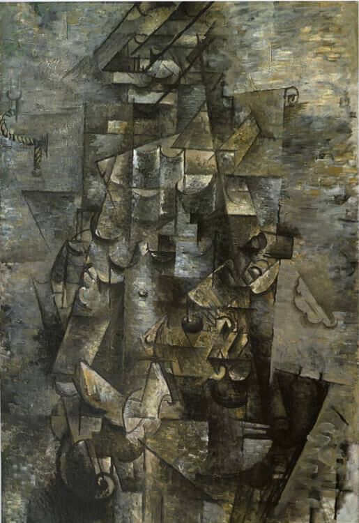 Man with a Guitar, 1911 by Georges Braque