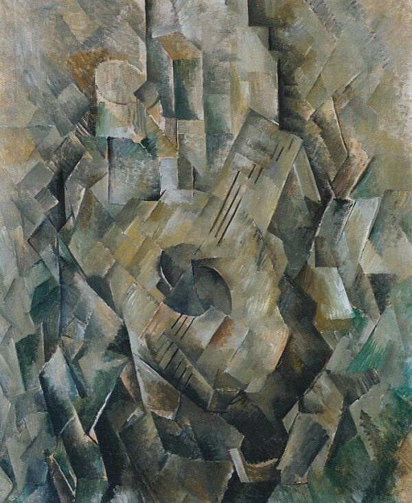 Mandora 1909-10, by Georges Braque