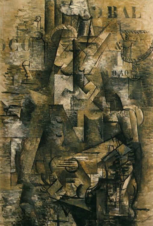 The Portuguese, 1911 by Georges Braque