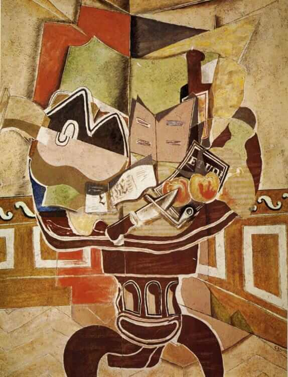 The Round Table, 1929 by Georges Braque